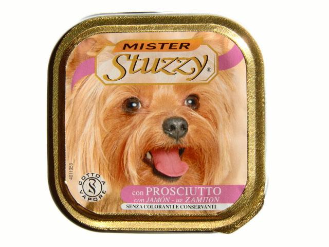 Stuzzy «Mister Stuzzy Dog» консервы для собак (с телятиной и морковью)